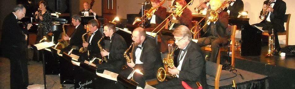 Glenn Miller, George Gershwin, Frank Sinatra, Louis Amstrong, Duke Elington a další LEGENDY KLASICKÉHO JAZZU v podání ŠPIČKOVÉHO HUDEBNÍHO TĚLESA: